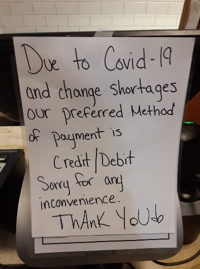 COVID-19 Coin Shortages